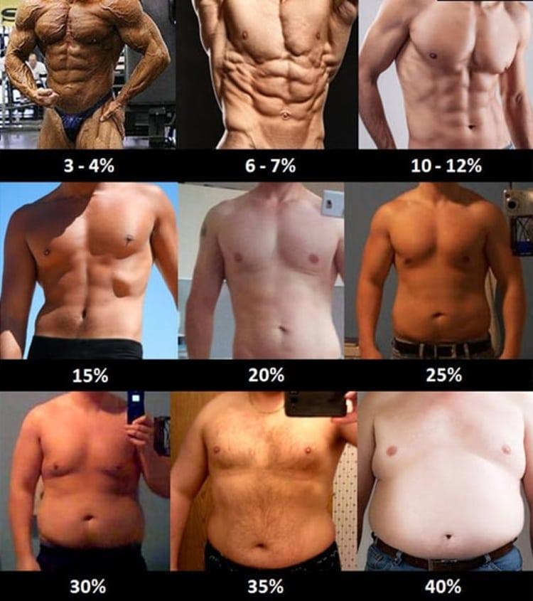 plan de dieta de culturismo para perder grasa corporal