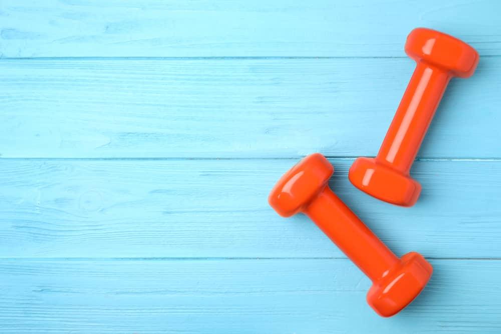 Mancuernas de neopreno para hacer ejercicio