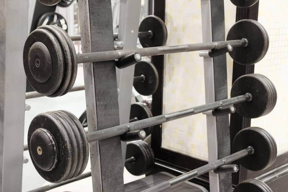 El mejor soporte barras olímpicas para el gimnasio