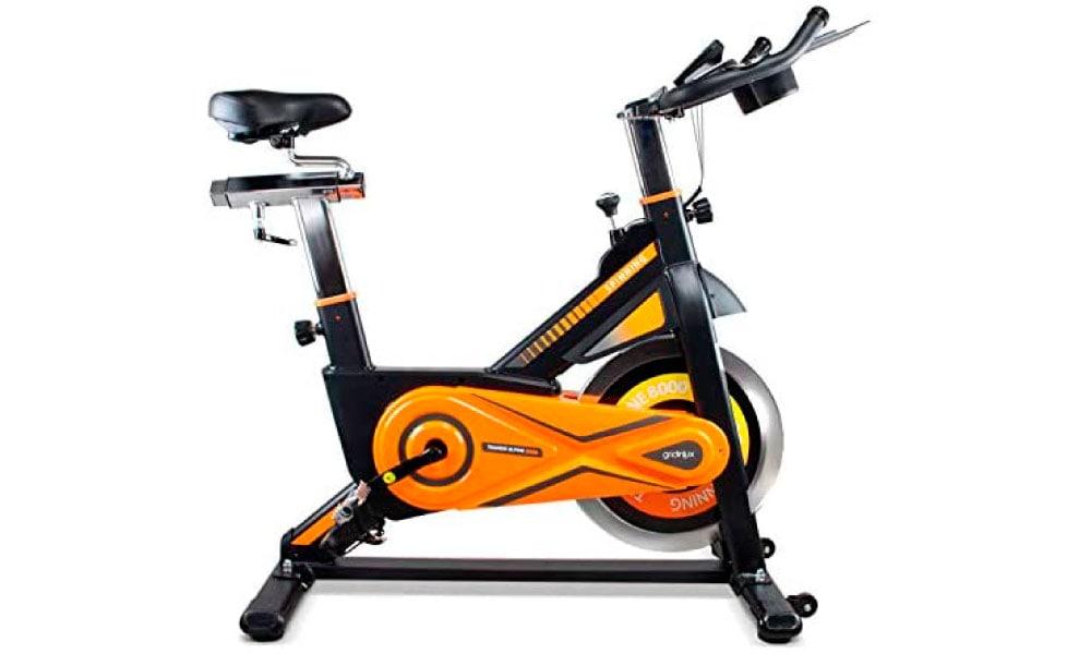 Gridinlux. bicicleta de spinning para trabajar cardio