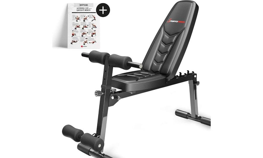 Sportstech brt500 para entrenamientos seguros y con confort