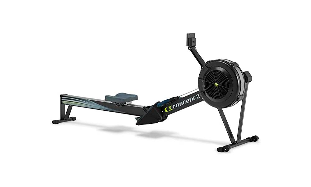 Máquina de remo concept 2 para entrenamientos completos