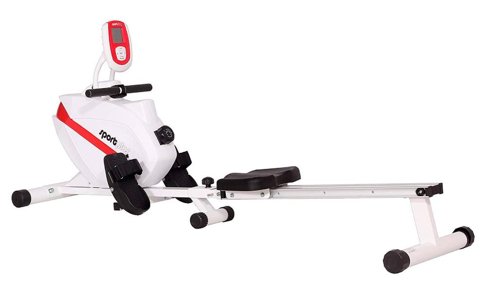 sportplus máquina de remo fitness para entrenamientos moderados